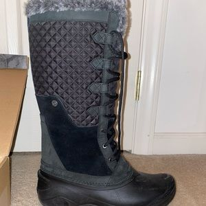 The North Face Tall Shellista Black Weather Boots